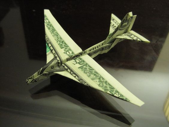 BILL DOLLAR FROM ORIGAMI:
