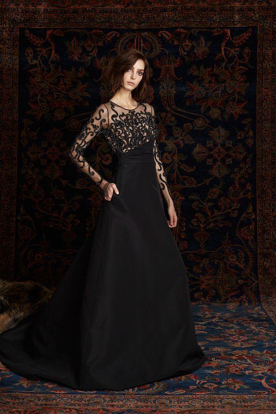 Pamella Roland Pre-Fall 2016 Fashion Show