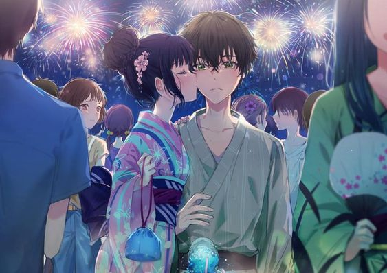 Gambar Anime Couple Romantis