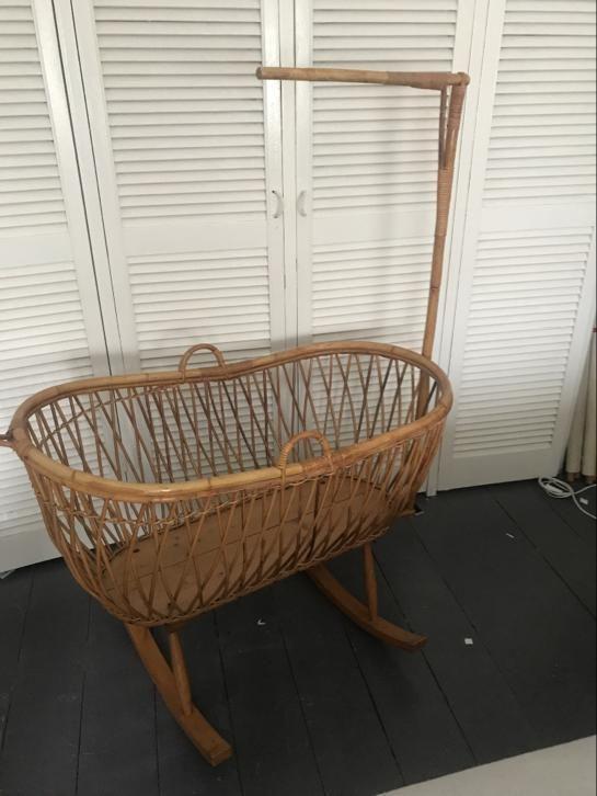 Marktplaats Complete Babykamer.Rotan Rohe Wieg Vintage Retro Minimaal 60 Jr