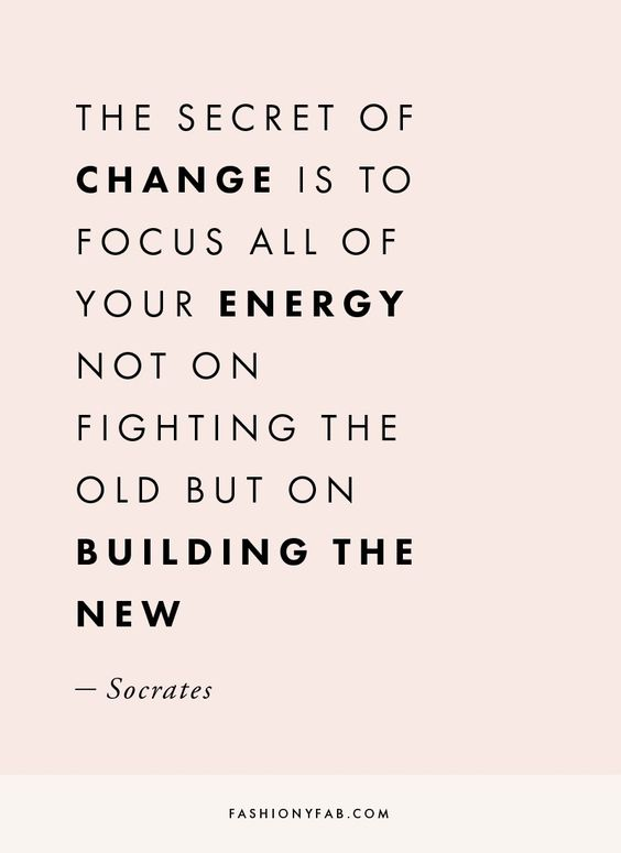 The Secret of Change. quote, inspirational quote, motivation, motivational quote, quotes to live by, positive quote, #quote, #inspiration, #inspirationalquote, #motivation