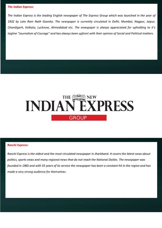 famous Top newspapers in North India