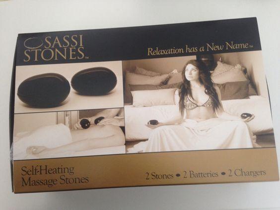 NOUVEAU!!!! Pierres chaudes chauffantes rechargeables pour massage