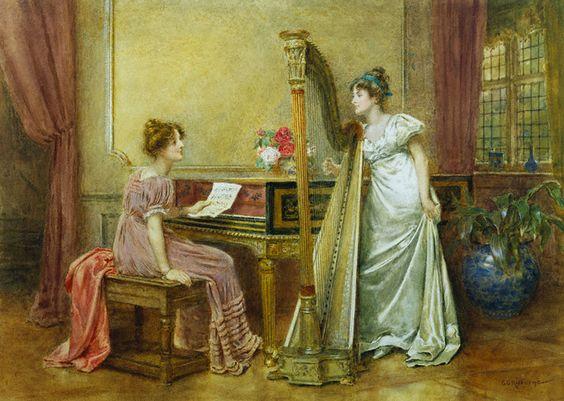 Kilburne, George Goodwin (1839-1924) - The Rehearsal