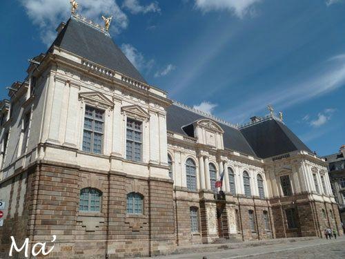 Rennes - le parlement de Bretagne
