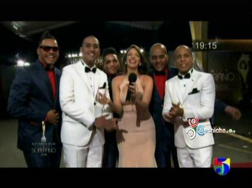 Chiquito Team Band En La Alfombra Roja De Premio Soberano #PremiosSoberano #Video