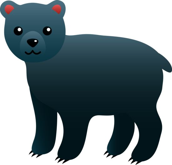 Clip Art Black Bear Clipart black bear bears and on pinterest cute free clip art