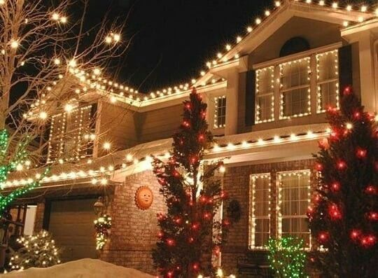 1000 in 2020 | Exterior christmas lights, Outside christmas