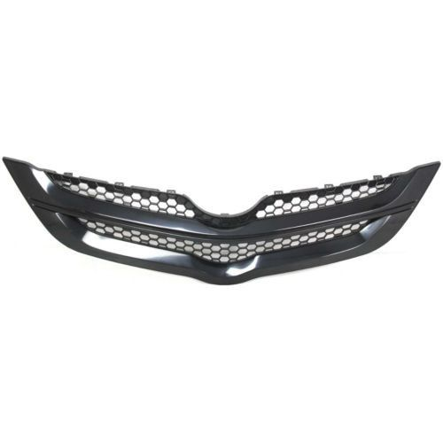2007-2008 Toyota Yaris Grille, Black, Upper