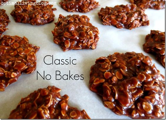 Classic No Bake Cookies...like mom's!!