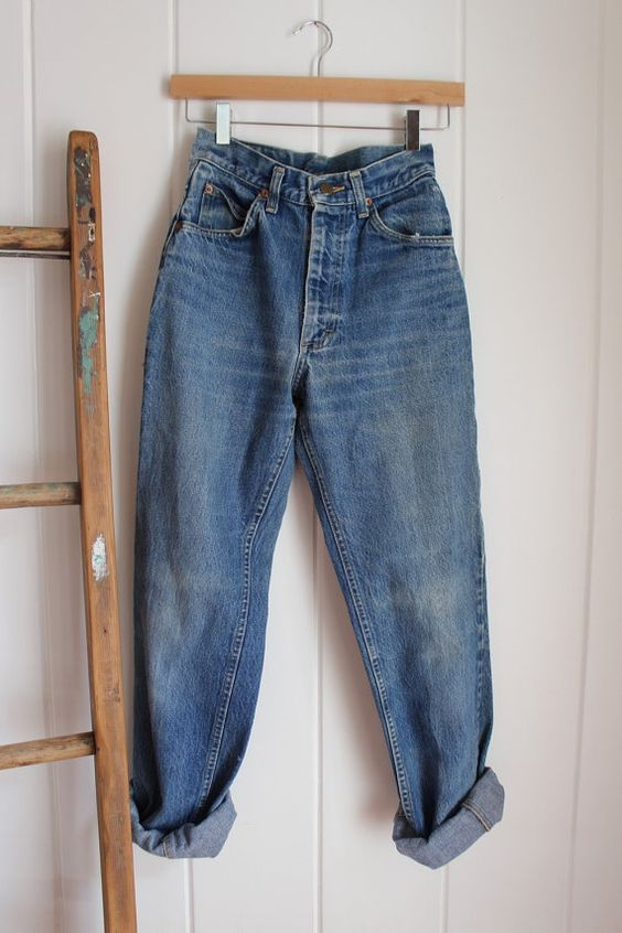 Vintage Lee Riders / 80's / Broken In To Perfection by BJBVINTAGE