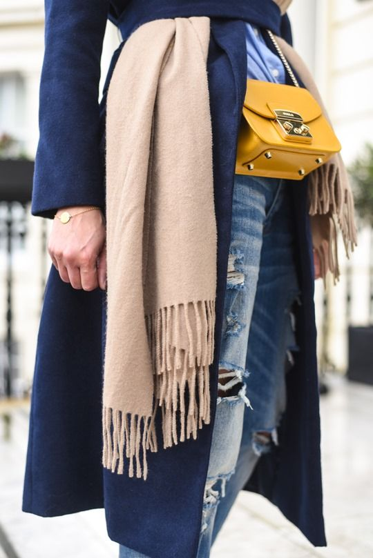 Furla bag & belted layers