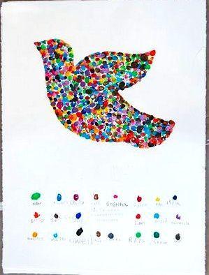Fingerprint bird - class project?
