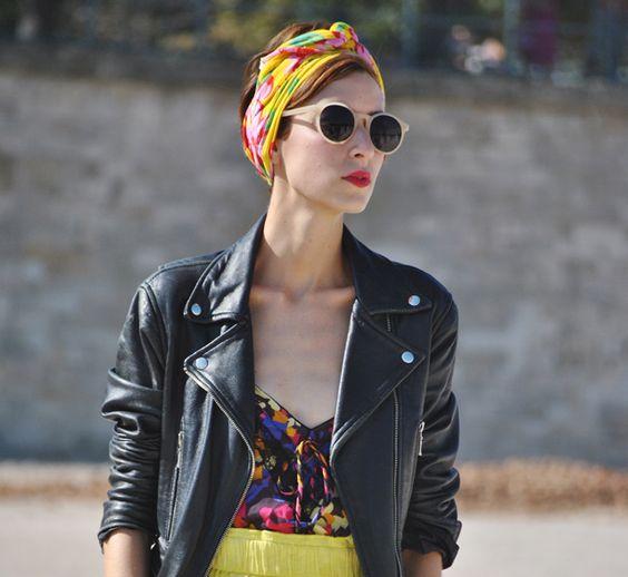 street style #scarf
