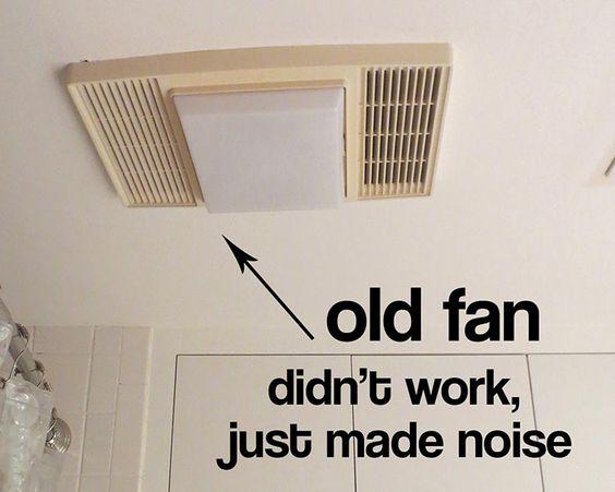 My Bathroom Exhaust Fan Didn T Work And I Find Out Why Bathroom Exhaust Bathroom Exhaust Fan Ceiling Fan Bathroom