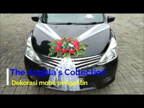 Dekorasi Mobil Pengantin Youtube Mobil Pernikahan Pengantin Mobil