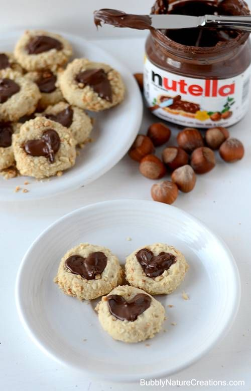 Receita de cookie de Nutella! Nhamiiii