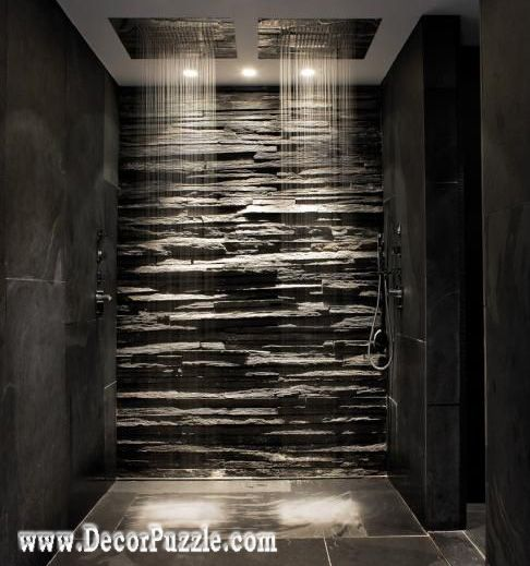 Bathroom Remodel With Rain Shower Heads Many Various Design You Can Create And Improvement Ooooo I Love This