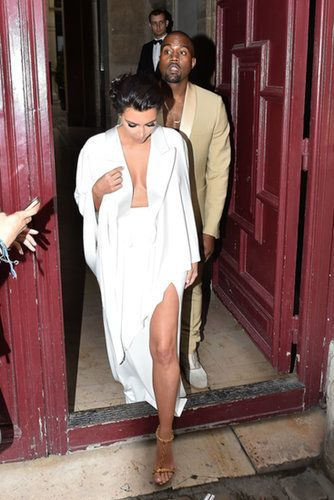 Kim and Kanye Kick Off Their Wedding Weekend in Style