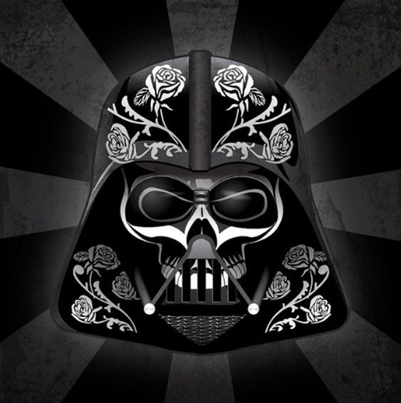 les personnages de star wars version fte des morts mexicaine 09