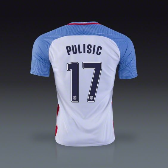 For Nate. You can just get a USA jersey then have them add the name and number on back. Kids XL
