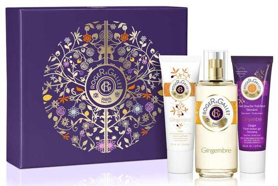 Roger & Gallet Coffret Gingembre Eau Parfumée 100ml + 2 Soins 50ml