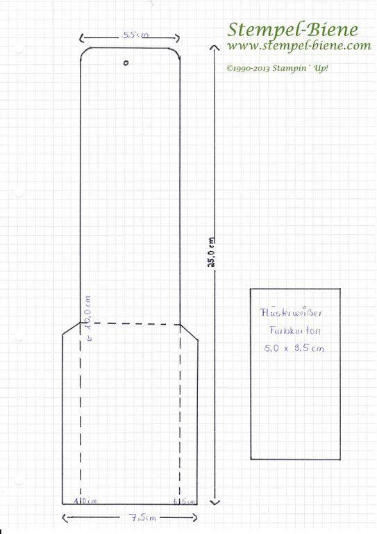 Bastelanleitung für ein Wunderkerzen-Mäppchen: