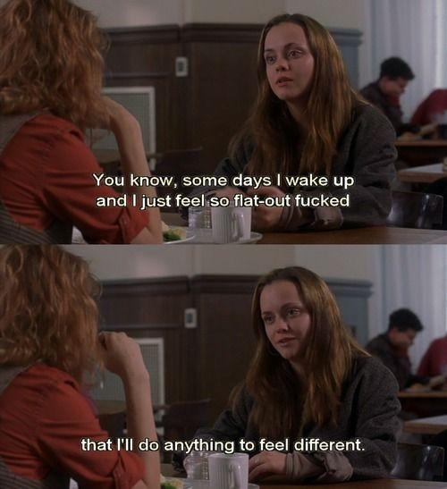 Prozac Nation. Good #quote #movies