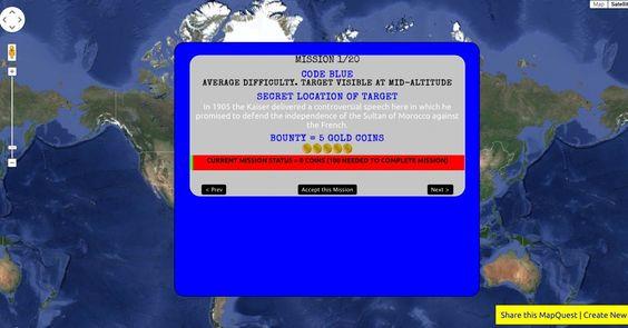 Mission MapQuest: Createyour own Google Maps Online ScavengerHunt!