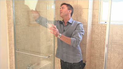How to Remove Hard Water Stains from Shower Glass