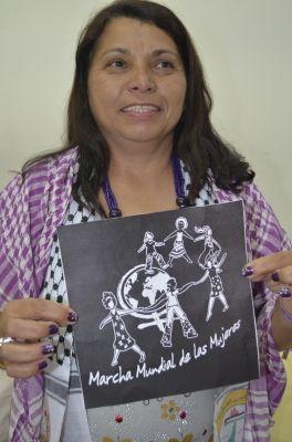 Fotos - Categoría: Main dans la main - 24 heures d'action féministe à travers du monde - Marche mondiale des femmes. BRAZIL.