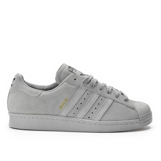 Adidas Superstar Wildleder Beige