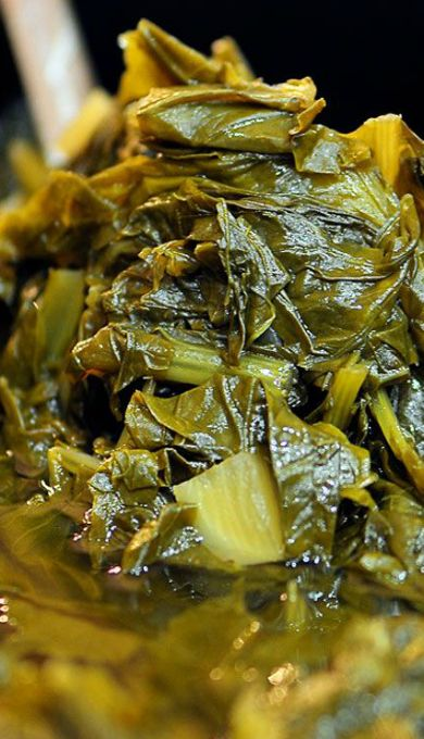how to cook collards in a slow cooker