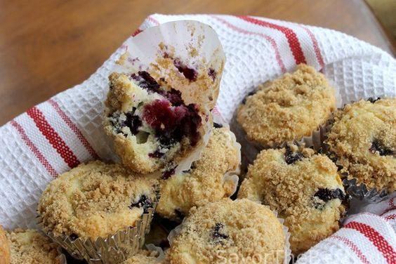 Blueberry Coffee Cake Muffins - Savor the Best