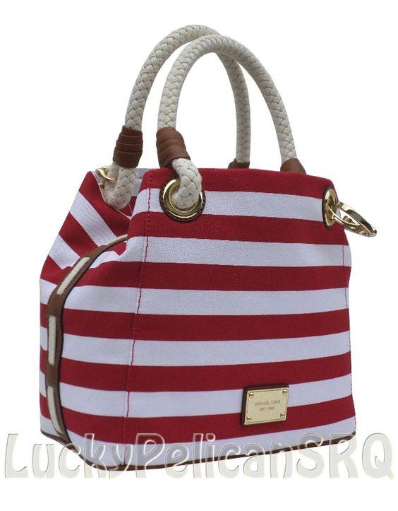 c3da30c4abdf ... netherlands michael kors red canvas purse camden black bag 71066 64860