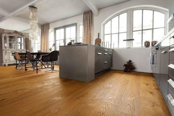 HARO PARKETT 4000 Landhausdiele 4V Eiche Markant strukturiert - parkett in der küche
