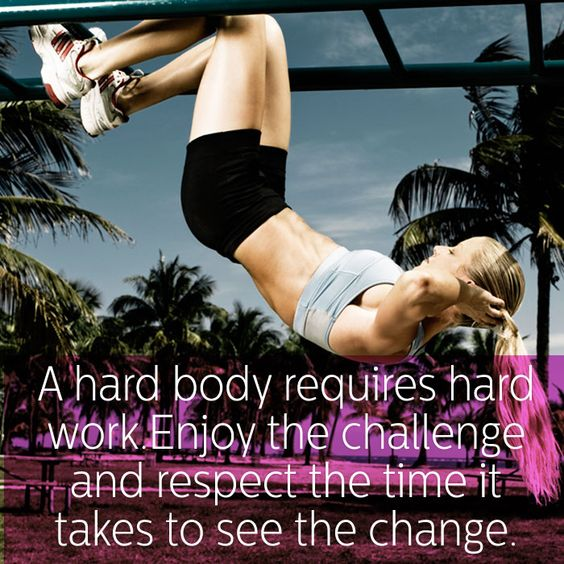 Work Hard to Be Hard