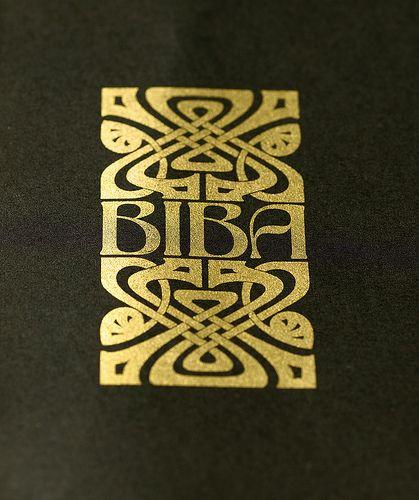Biba logo, John McConnell