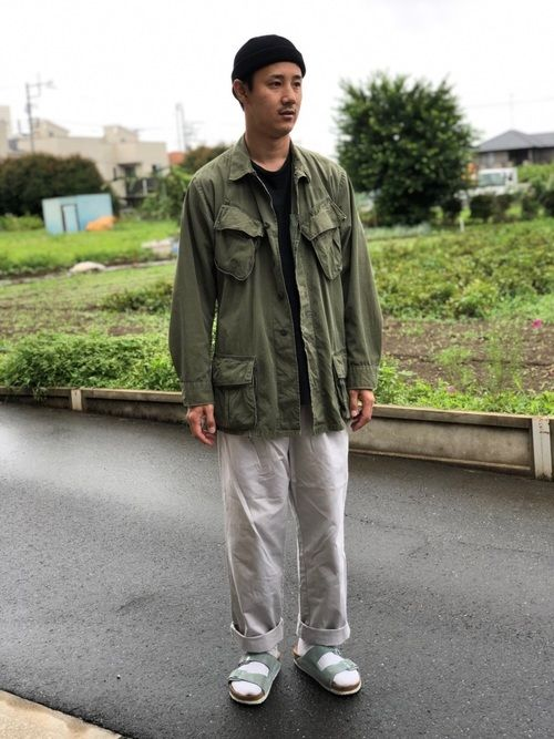 jacket 60 s ジャングルファティーグ pants used shoes birken s