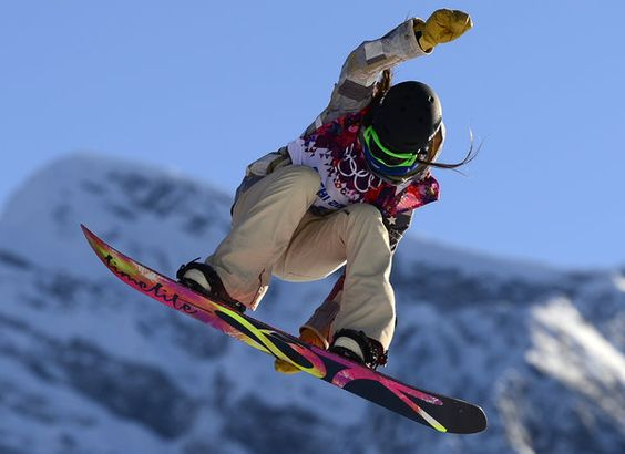 US Karly Shorr competes in the Women's Snowboard Slopestyle qualification at the Rosa Khutor Extreme Park during the Sochi Winter Olympics on February 6, 2014. AFP PHOTO / FRANCK FIFE (Photo credit should read JAVIER SORIANO/AFP/Getty Images)