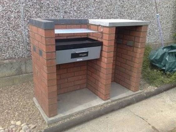 Bbq Design Ideas garden design ideas bbq small outdoor grill home pergola Compact Brick Bbq Grill Design Ideas Outdoor Bbq Grill Design