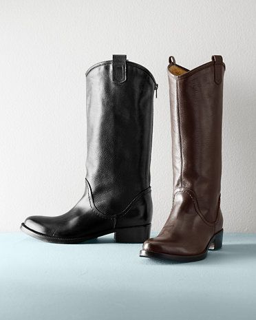 Alessia Italian Leather Boots
