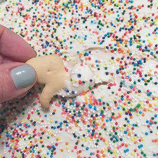 Fashion meets Food: Cake Batter Dip