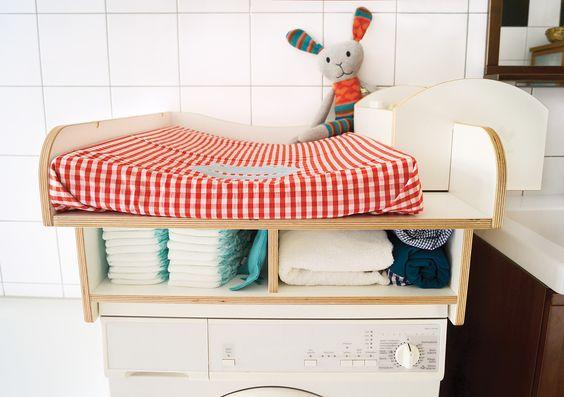 Wickelaufsatz Waschmaschine::WICKWAM