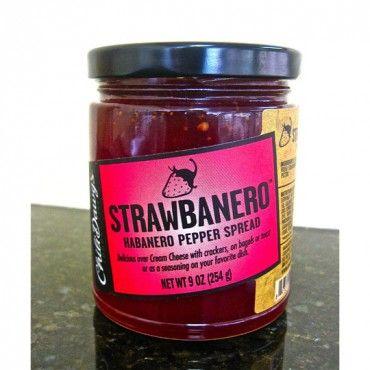 Chili Dawg's Strawbanero. Great over cream cheese! $7.99