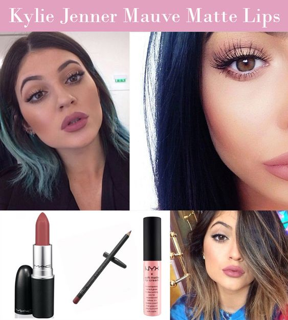Matte Lips, Mac Lipsticks And Kylie Jenner On Pinterest