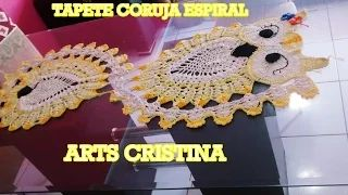 tapete em crochet - YouTube