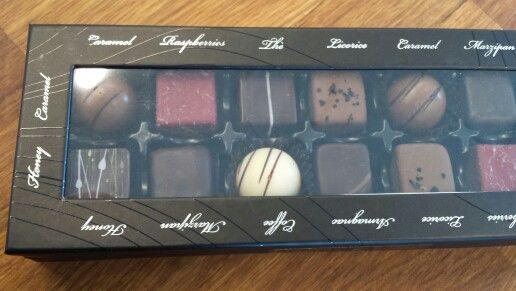 Og masser af god chokolade fra Konnerup & co