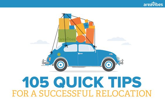 105 Tips For A Successful Relocation - AreaVibes