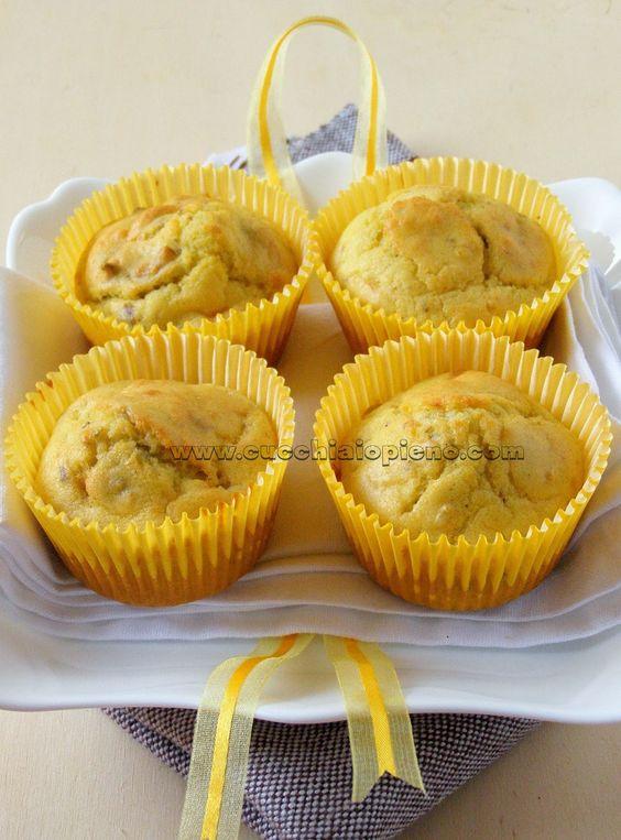 Cucchiaio pieno - yoga e receitas saudáveis vegetarianas e vegana! Com passo-a-passo e fotografia.: Muffin salgado com gorgonzola e nozes